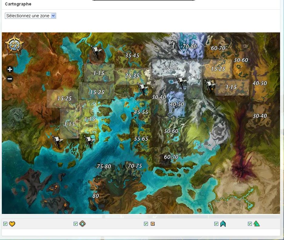 Gw2 Karte.Guildwars 2 Guildwars2 Gw2 Carte Map Carte Kryte Carte